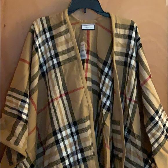 Charter Club Accessories - Big shawl cape
